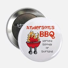 "Personalized BBQ 2.25"" Button (10 pack)"