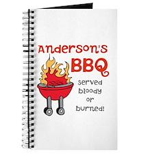 Personalized BBQ Journal