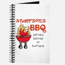 Personalized BBQ Journal