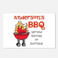 Personalized BBQ Postcards (Package of 8)