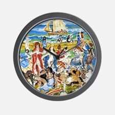 Maurice Prendergast Bathers Wall Clock