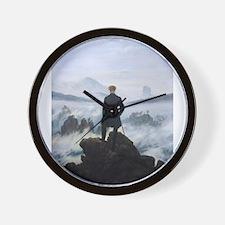 Cute Mountain man Wall Clock