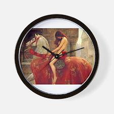 John Collier Lady Godiva Wall Clock