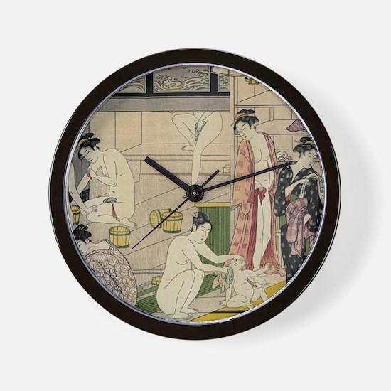 Cool Japanese art Wall Clock