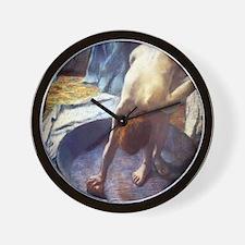 Edgar Degas The Tub Wall Clock