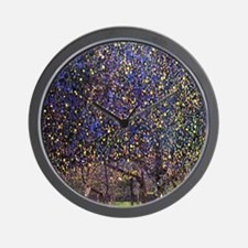 Gustav Klimt Pear Tree Wall Clock