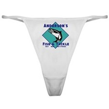Personalized fishing Classic Thong