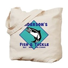 Personalized fishing Tote Bag