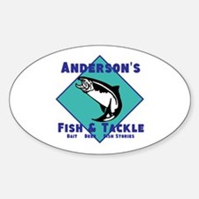 Personalized fishing Decal