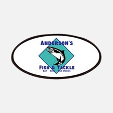 Personalized fishing Patches