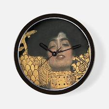 Gustav Klimt Judith (Detail) Wall Clock