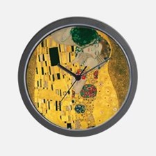 Funny Gustav klimt Wall Clock
