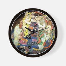 Gustav Klimt Virgin Wall Clock