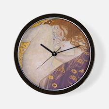 Gustav Klimt Danae Wall Clock