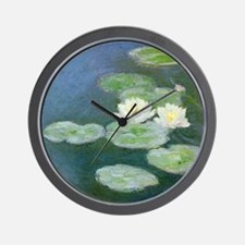 Claude Monet Water Lilies Wall Clock