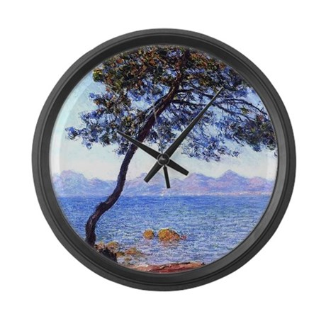 Claude Monet Antibes Large Wall Clock