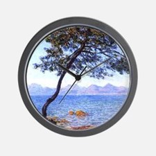 Claude Monet Antibes Wall Clock