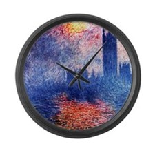Cute Vintage london Large Wall Clock