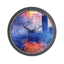 Cute Sun art Wall Clock