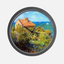 Unique Painting by claude monet Wall Clock