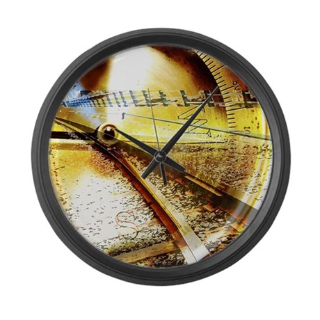 nautical compass large wall clock by iloveyou1