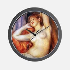 Renoir Sleeping Baigneuse Wall Clock