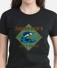 Personalized fishing Tee