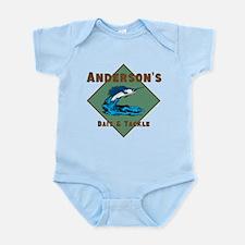 Personalized fishing Infant Bodysuit