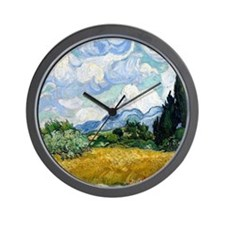 Funny Wheat Wall Clock