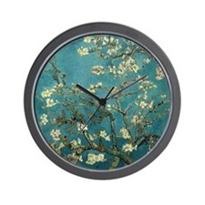 Van Gogh Almond Branches In Bloom Wall Clock