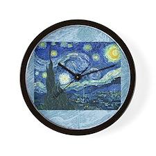 Van Gogh Starry Night Wall Clock