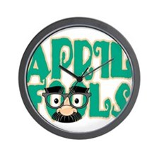 April Fool's Day Wall Clock