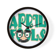 April Fool's Day Wall Clock