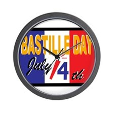Bastille Day Wall Clock