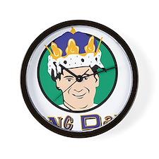 King Dad Wall Clock
