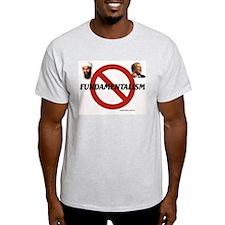 No Fundamentalism  Ash Grey T-Shirt
