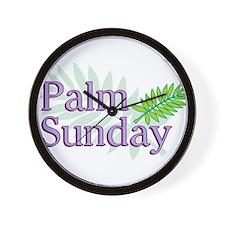 Palm Sunday Wall Clock