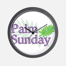 Palm Sunday Wall Clock
