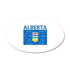 Flag of Alberta Wall Decal