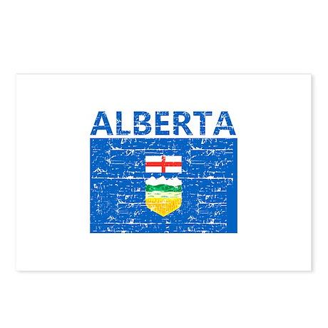 Flag of Alberta Postcards (Package of 8)