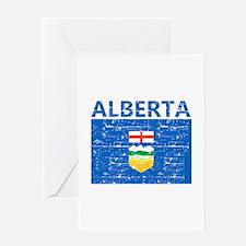 Flag of Alberta Greeting Card