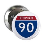 I-90 Interstate Hwy Button