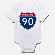 I-90 Interstate Hwy Infant Creeper