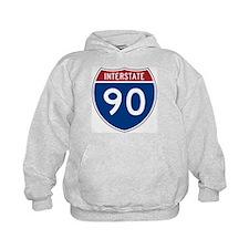 I-90 Interstate Hwy Hoodie