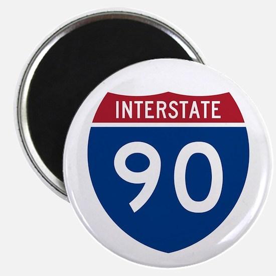 I-90 Interstate Hwy Magnet