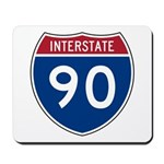 I-90 Interstate Hwy Mousepad