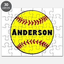 Personalized Softball Puzzle