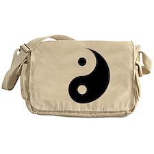 Yin And Yang Messenger Bag