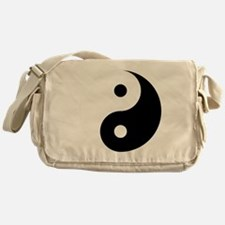 Yin And Yang Messenger Bag