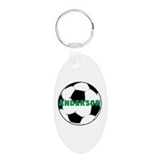 Personalized Soccer Keychains